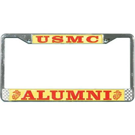 Usmc Alumni License Plate Frame Walmart Com
