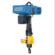 DEMAG DCMS Pro 1-125 1/1 H4.3 VS30-30 480/60 Electric Chain Hoist, 125 kg., 14