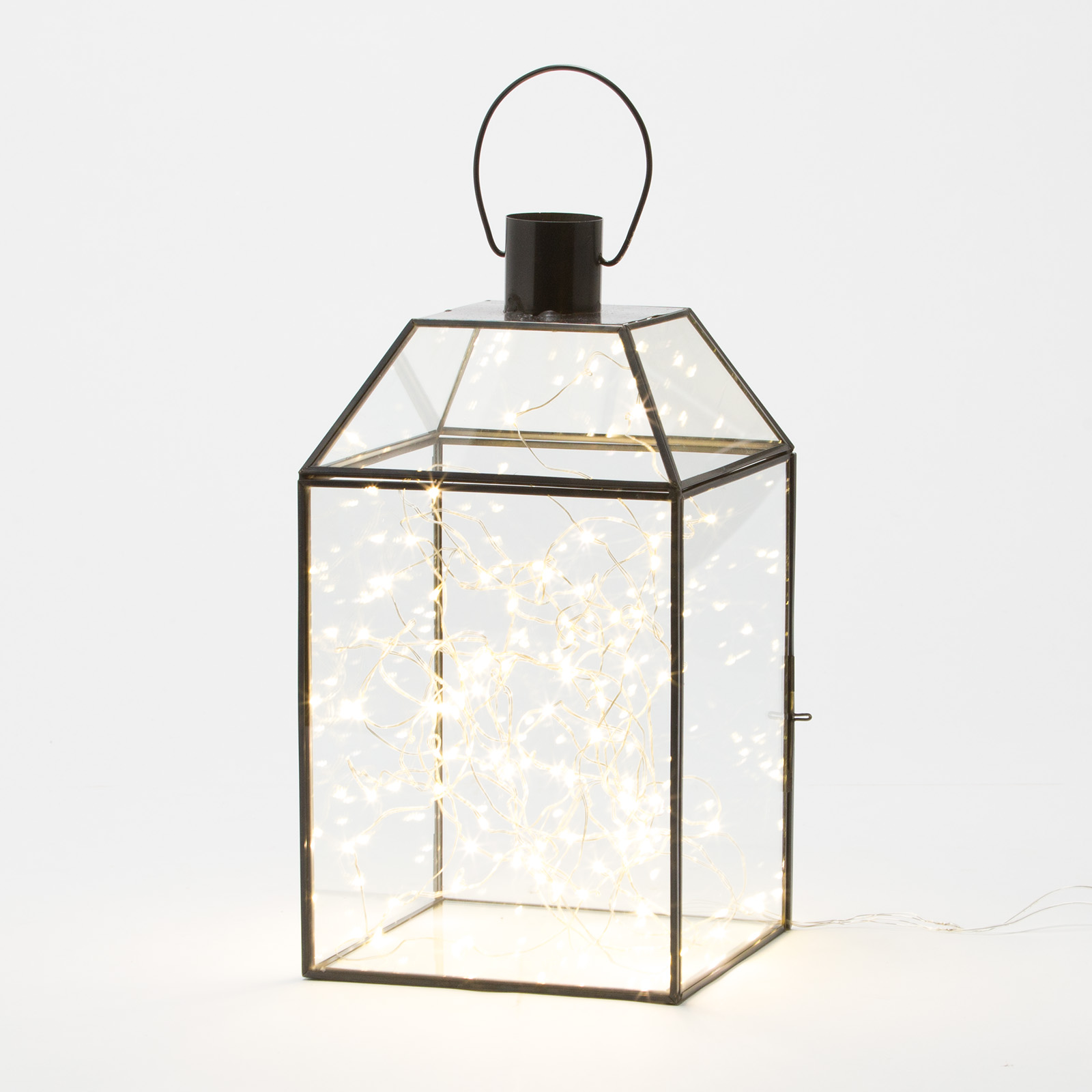 Belham Living 2 Lanterns with Mini String Lights
