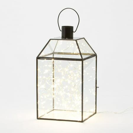 Belham Living 2 Lanterns with Mini String - Black Light Decor