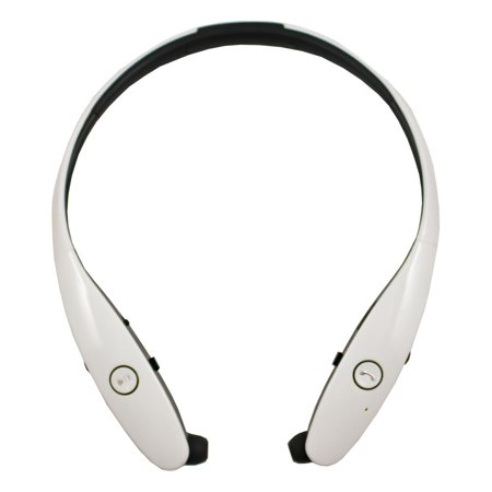 495c0389902 Retractable Stereo Wireless Bluetooth Headset/ Headphones for OnePlus 5T,  5, 3T, OnePlus 3, 2, One, X (White) - Walmart.com