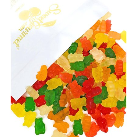 SweetGourmet Sugar Free Gummi Bears | Strawberry, Apple, Orange, Pineapple,  Lemon, Cherry Flavors Bulk Gummy Candy | 3 pounds