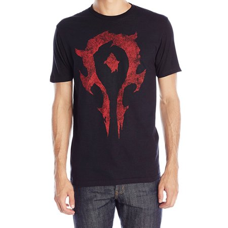 Warcraft Movie Horde Logo Premium Adult T Shirt