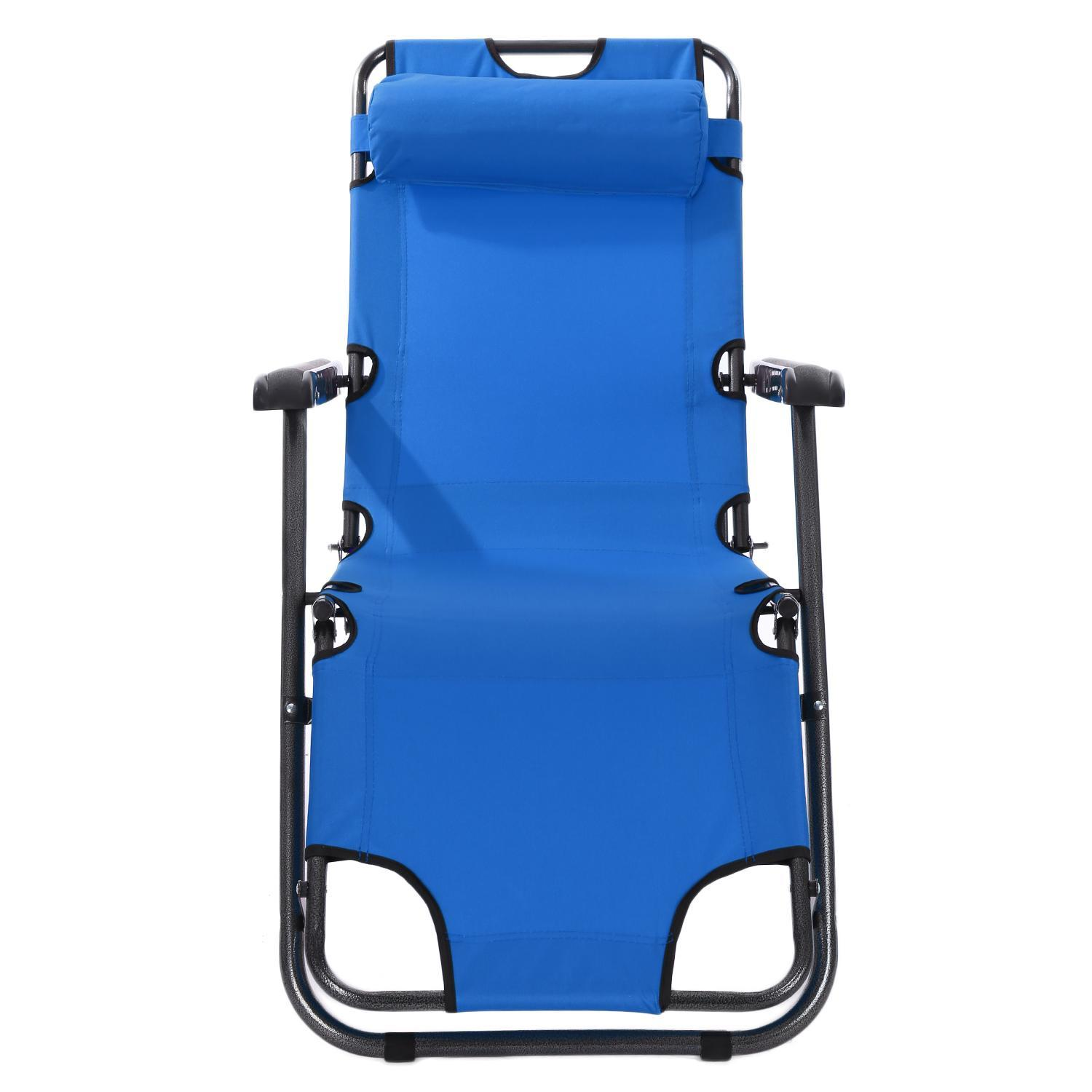 Outdoor furniture 178cm deck chair longer leisure folding beach chair stool sling recliner camping lounge chairs bed KRGL