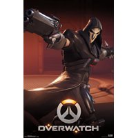 Overwatch - Reaper Poster and Poster Mount Bundle