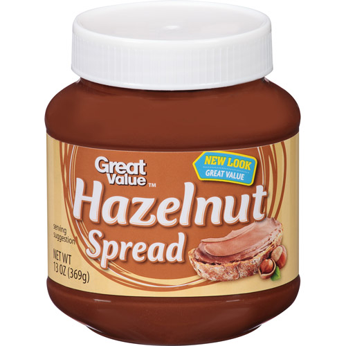 Great Value Hazelnut Spread, 13 oz