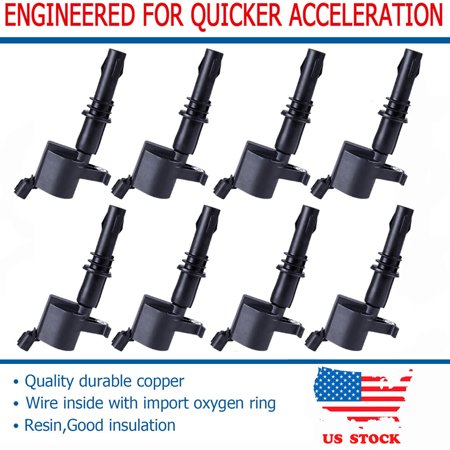 Iuhan 8 Pack DG511 Ignition Coil On Plug For Ford F-150 Expedition 4.6L 5.4L