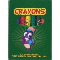 8ct. Crayons(Pack of 48 )