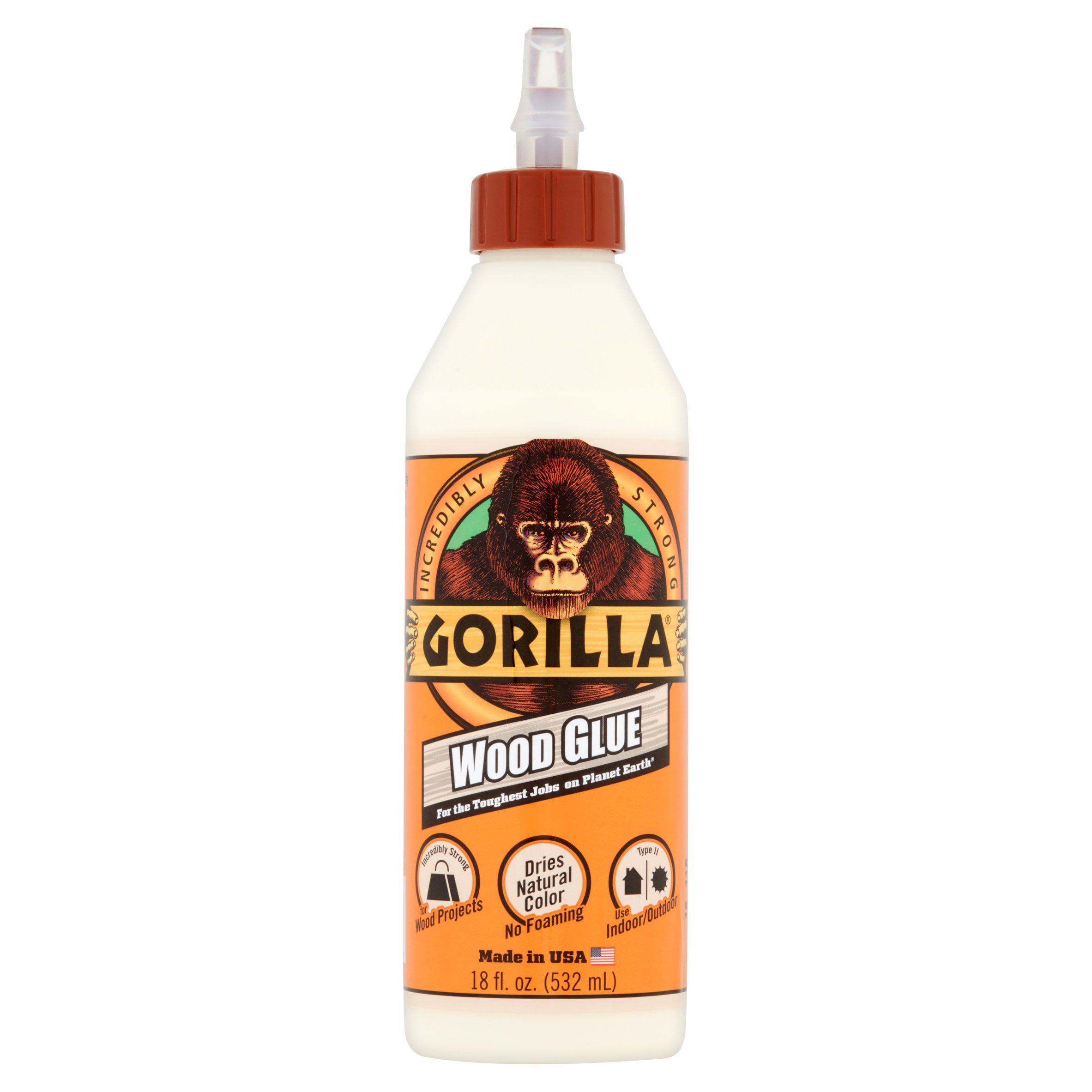 Gorilla Wood Glue, 18 oz. by Gorilla Glue