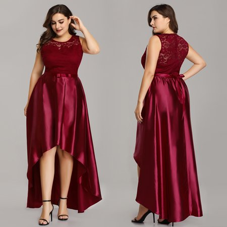 Ever-Pretty Women\'s Plus Size Mother of the Bride Dresses for Women 07702  Burgundy US26