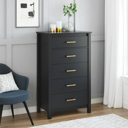 Better Homes and Gardens Wesley 5 Drawer Dresser, Multiple
