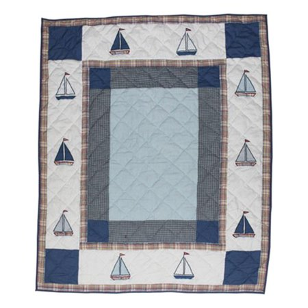 Patch Magic Thsltr Sail Trail  Throw 50 X 60 Inch