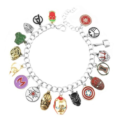 The Avengers Infinity War Charm Bracelet - Avengers Jewelry