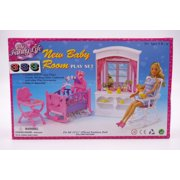 """My Fancy Life New Baby Room Play Set for 11.5"""" dolls"""