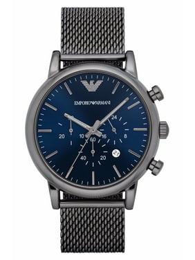 Emporio Armani Men's Chronograph Gunmetal Classic Dress Watch AR1979