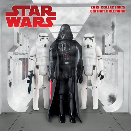 2019 Star Wars Collector's Edition Wall Calendar (Star Wars Calendar)