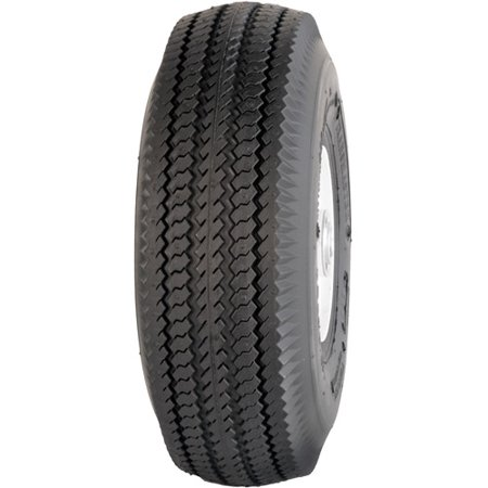 Sawtooth Wheel (Greenball Sawtooth 4.10/3.50-6 4 PR Highway Tread Tubeless Lawn and Garden Tire (Tire Only))