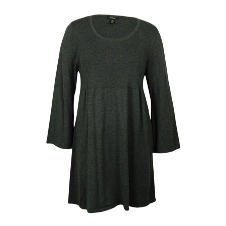 ee5167e4dfb Style   Co. - Style   Co Women s Babydoll Sweater Dress - Walmart.com