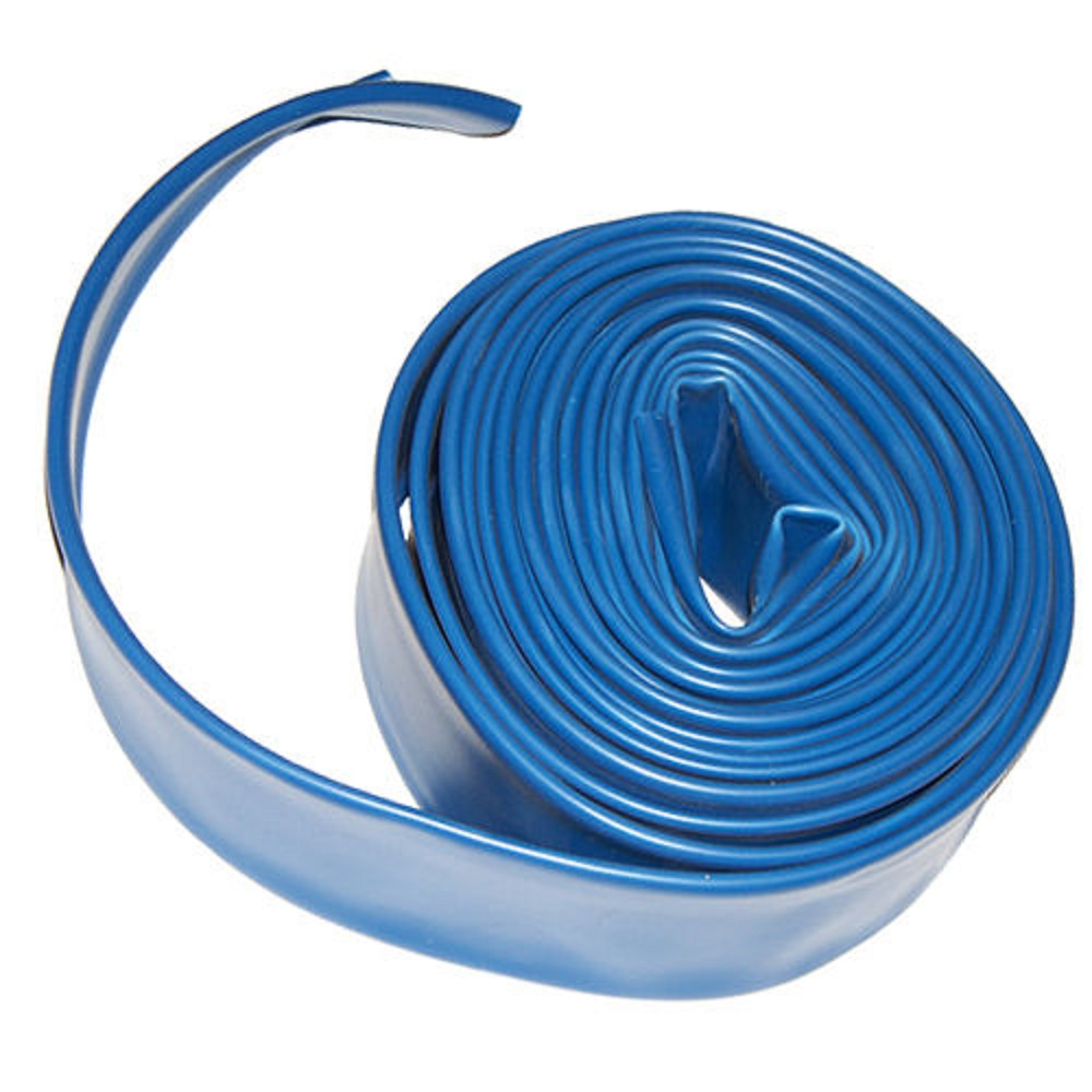 "Plastiflex AD2X200 2"" x 200' Flat Backwash Hose"
