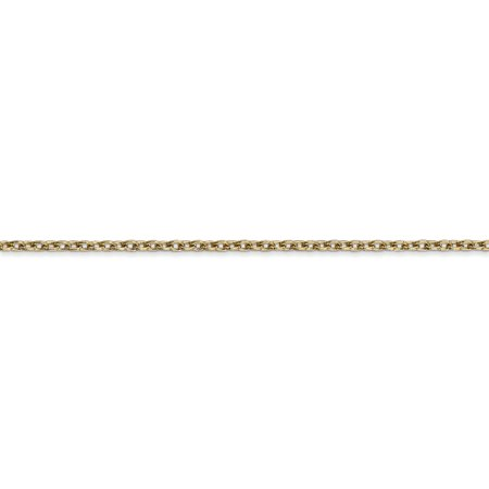 14K Yellow Gold 2mm Cable Chain 16 Inch - image 3 de 5