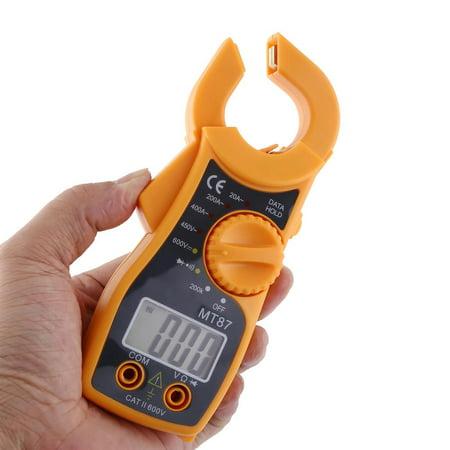 Ymiko Digital Clamp Meter Multimeter AC DC Voltmeter Auto Range Volt Ohm Amp Tester,Digital Clamp Meter Multimeter AC DC