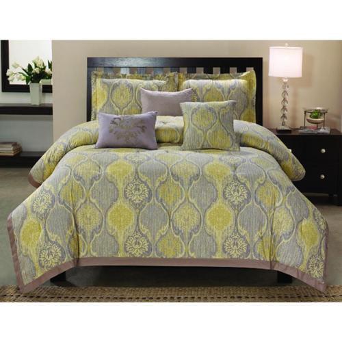 Venetian 6-piece Cotton Comforter Set King