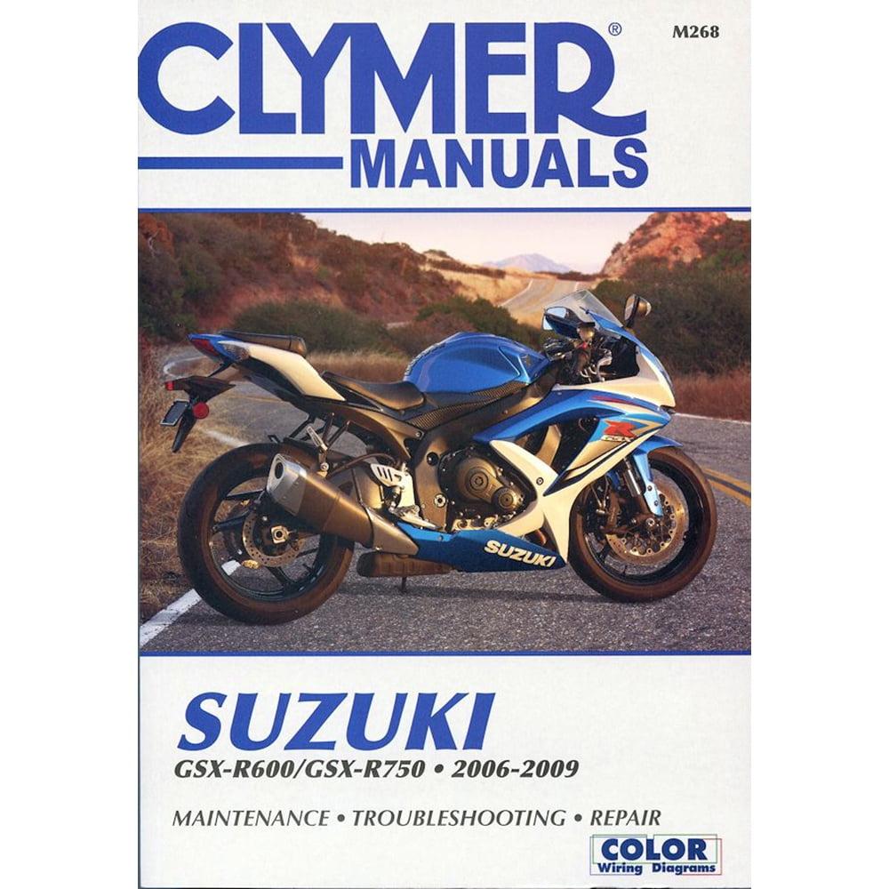 CLYMER SUZUKI GSX-R600-750 2006-2009 M268