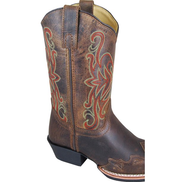 Smoky Mountain Boys' Rialto Western Boot Square Toe - 3446Y