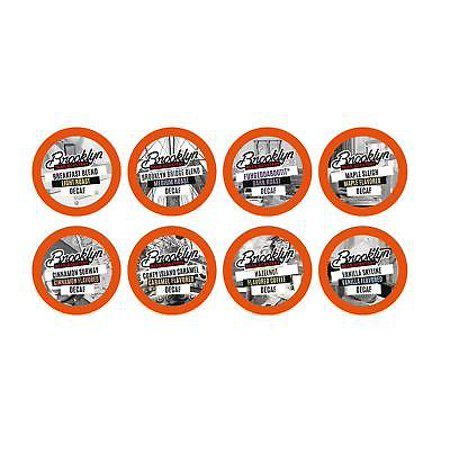 - Brooklyn Beans Decaf Variety Pack Coffee Pods for Keurig K-Cup Makers, 40 Count