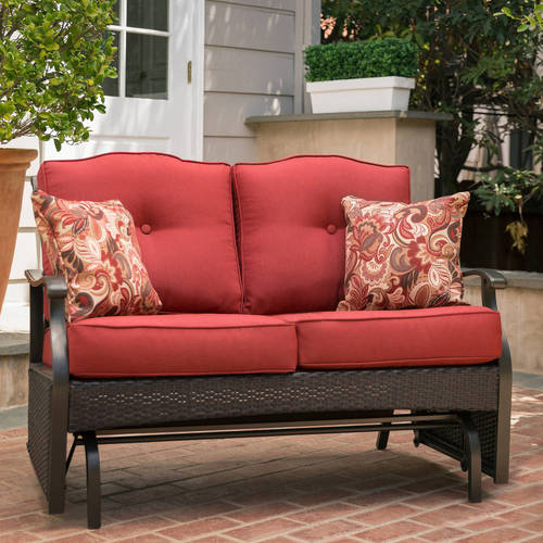 Better Homes And Gardens Providence Outdoor Glider Bench, Seats 2    Walmart.com