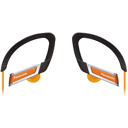 PANASONIC RP-HS220-D HS220 Sport Clip Headphones (Orange)