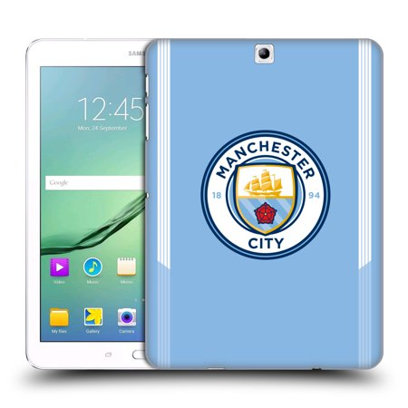 OFFICIAL MANCHESTER CITY MAN CITY FC BADGE KIT 2017/18 HARD BACK CASE FOR SAMSUNG TABLETS 1