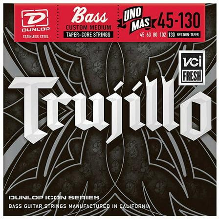Dunlop RT45130T Robert Trujillo Icon Series Bass Guitar Strings 5 String Set, .045-.130