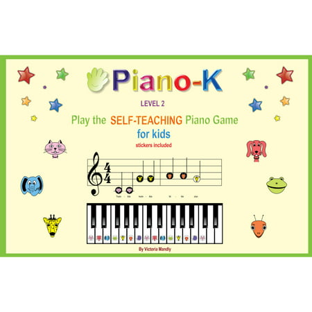 Ez Play Piano - Piano-K Play the Self-teaching Piano Game for Kids, Level 2