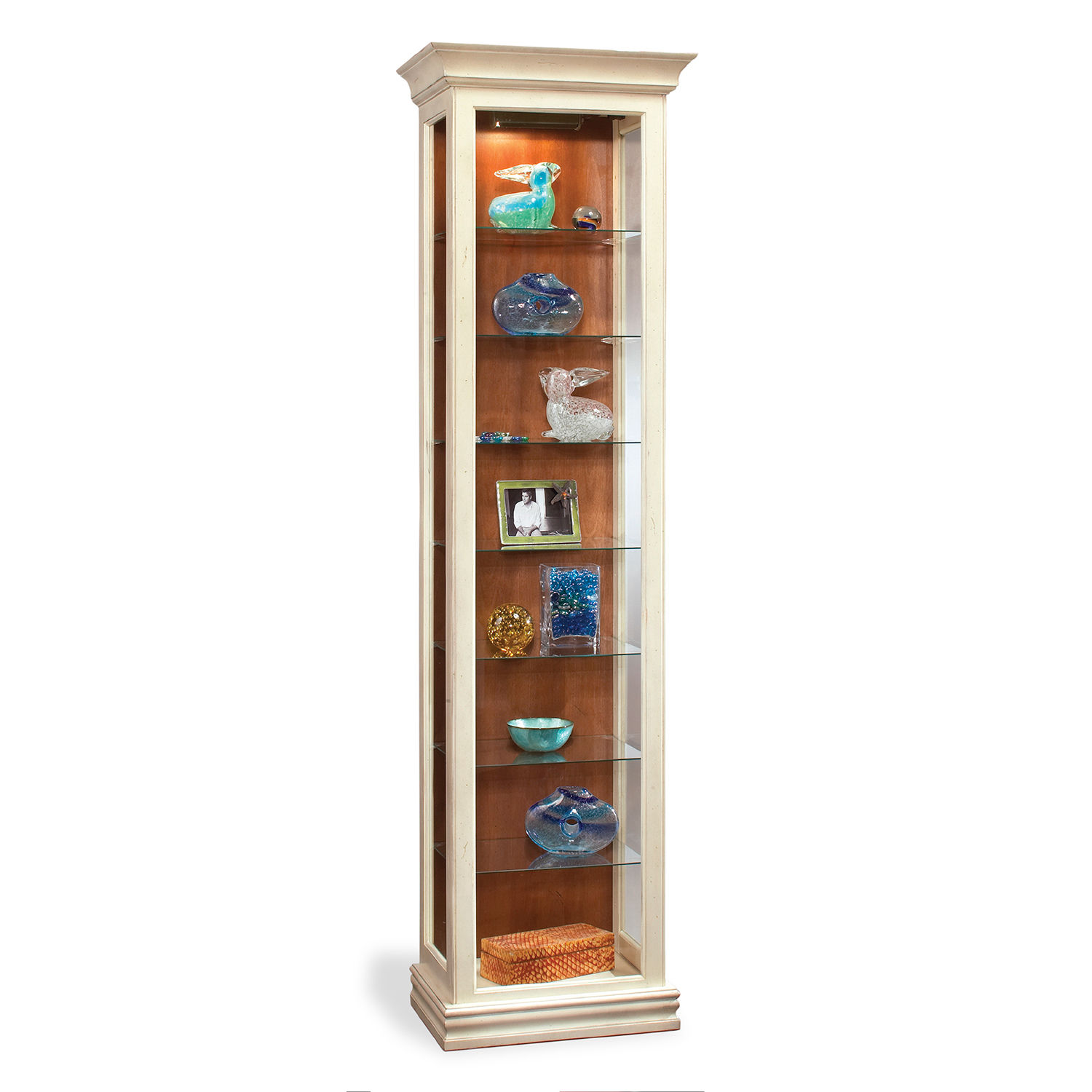 Philip Reinisch  Co. Color Time Harmony Display Cabinet, Sandshell White