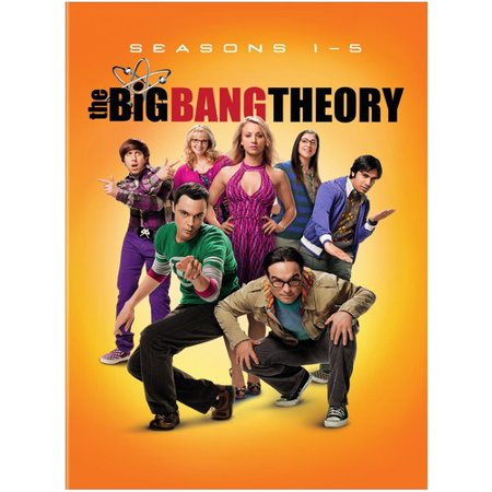 The Big Bang Theory: Season 1 - 5 (DVD)