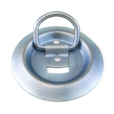 Red Hound Auto Tie Down D Pan Fitting Recessed 1.5