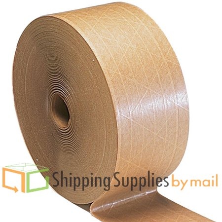 unreinforced 3 inch x 600 ft kraft tape water activated 30 rls