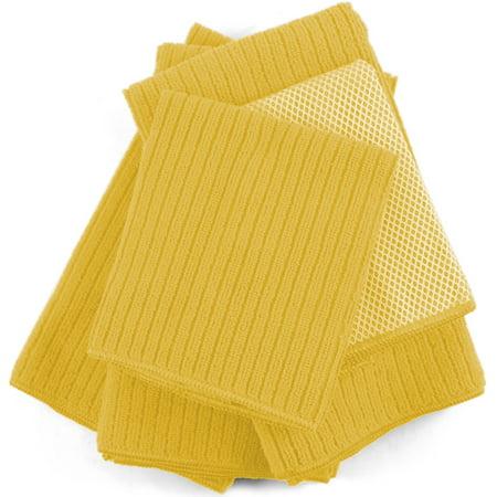 Yellow Microfiber 5 Piece Kitchen Towel Set ()