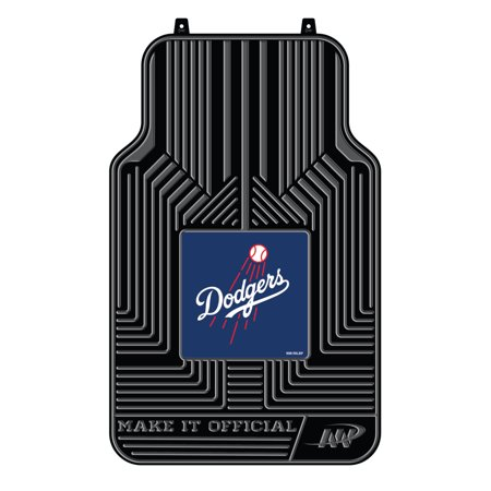 MLB Los Angeles Dodgers Floor Mats - Set of (Mlb Baseball Floor Mat)