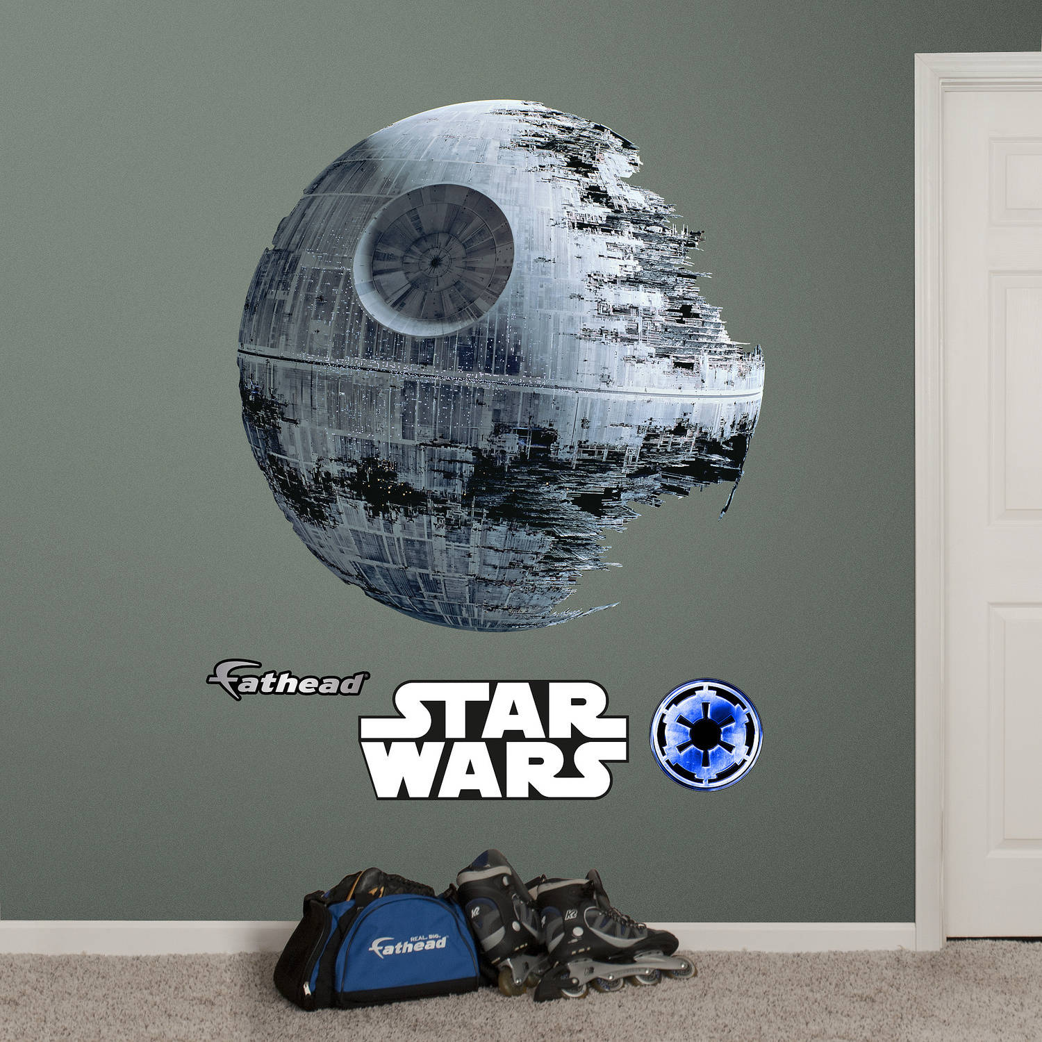 Fathead Death Star Wall Decals