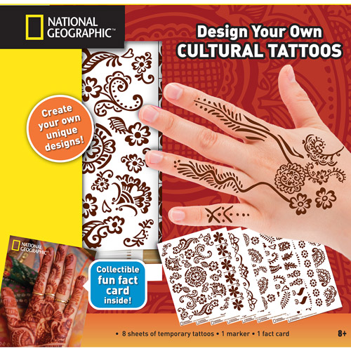 National Geographic Body Art Of The World Kit Walmart Com