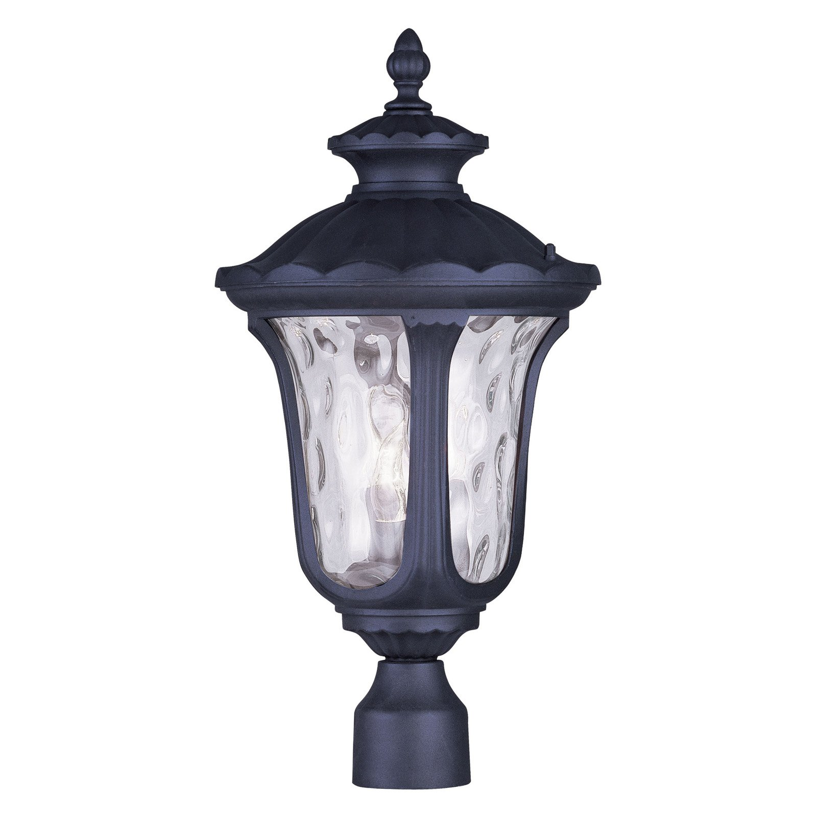 Livex Lighting Oxford 3 Light Outdoor Post Lantern
