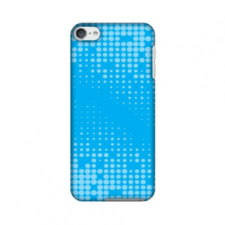 Carbon Fiber Ipod Touch Case - iPod Touch 6th Generation Case, Premium Slim Fit Handcrafted Printed Designer Hard Snap On Shell Case Back Cover for iPod Touch 6th Gen - Carbon Fibre Redux Aqua Blue 12