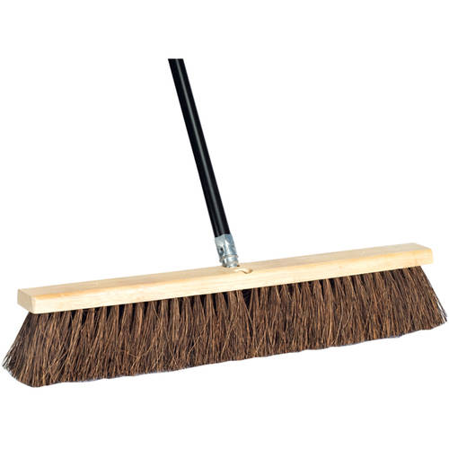 "DQB Industries 24"" Palmyra Push Broom & Handle"