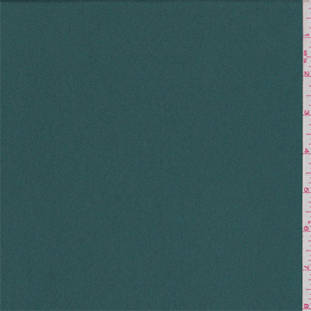 Teal Green Crepe, Fabric By the (Teal Crepe)