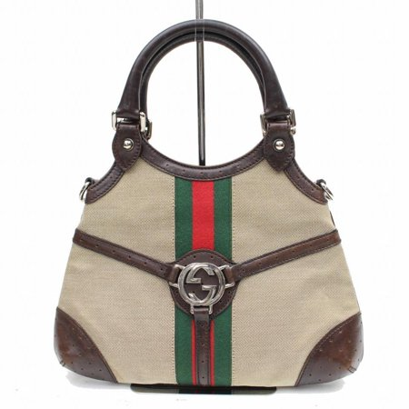 Gucci Sherry Web Interlocking Logo Reins Hobo 868603