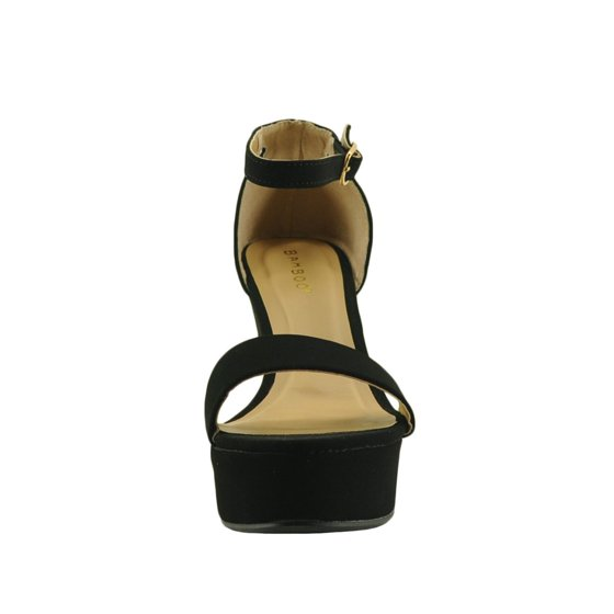 f143123dec8 Bamboo - Women s Shoes Bamboo Scorpio 21S Single Strap Platform ...
