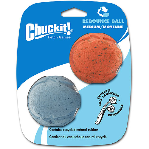Chuckit! Medium Rebounce Ball, 2 ct
