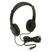Accohi-fi Headphones, Plush Sealed Earpads, Black